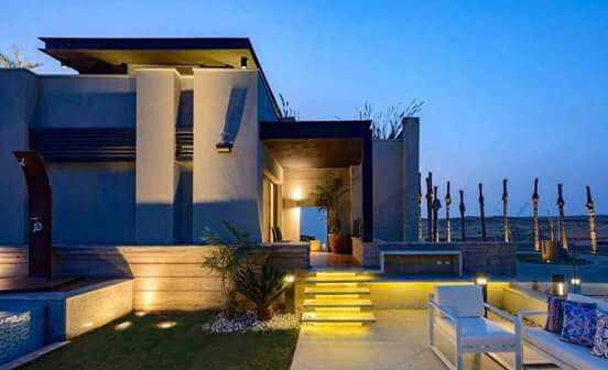 Trio villas